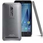 """เคสเซนโฟน2 5.5""""(ZE551ML) ซิลิโคลนนิ่มฝาหลังใส บาง 0.3M."""