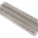 Transparent Breadboard (830 holes) แบบใส
