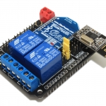 2 channel Relay Shield For Arduino (With XBee/BTBee interface)