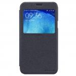 เคส J7 Version2 ฝาพับ nillkin Sparkle Leather Case สีดำ