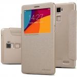 nillkinแท้ เคสฝาพับOPPO R7 Plus รุ่น Sparkle Leather Case สีทอง