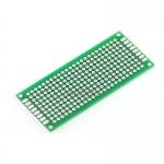 Through hole Universal Prototyping PCB Board size 3x7cm (บอร์ดPCB ไข่ปลา 2 หน้า)