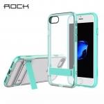 เคสแบรนด์ Rock! เคสไอโฟน 7 พลัส เคส Rock ตั้งได้ สีฟ้า