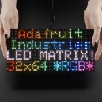 64X32 RGB LED Matrix Panel - 4mm Pitch (Adafruit)