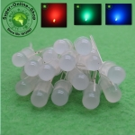 RGB LED 5mm Diffused Common Anode (20 หลอด)