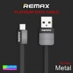 สายชาร์จ Micro USB REMAX METAL RC-044m ราคา 79 บาท ปกติ 190 บาท