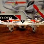 Quad Rotor mini-RC Drone (with Camera)