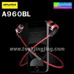 หูฟัง บลูทูธ AWEI A960BL Wireless Sports Earphones ราคา 525 บาท ปกติ 1,310 บาท