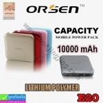 ORSEN E20 or ELOOP E20 Power bank แบตสำรอง 10000 mAh ราคา 389 บาท ปกดิ 1,150 บาท
