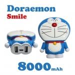 แบตสำรอง โดเรมอน ยิ้ม Power Bank Doraemon smile 8000 mAh