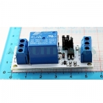 1 Channel Relay with Optocoupler (white PCB)
