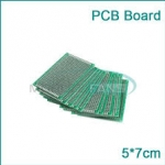Through hole Universal Prototyping PCB Board size 5x7cm (บอร์ดPCB ไข่ปลา 2 หน้า)