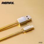 สายชาร์จ remax Gold Kingkong สำหรับ iOS สีทอง