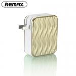 อะแดปเตอร์ remax 4USB RP-U41 สีทอง