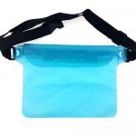 กระเป๋ากันน้ำคาดเอว สีฟ้า