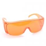 แว่นตากันน้ำ สีส้มสะท้อนแสง ส่ง 45 ขาย 99