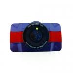 กล้องติดรถยนต์ AM600 สีน้ำเงิน-แดง