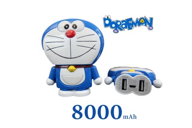 แบตสำรอง โดเรมอน Power Bank Doraemon 8000 mAh