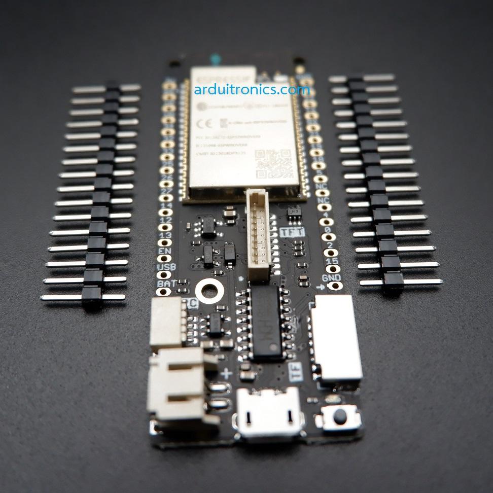 ESP32 LoLin D32 Pro 16MB Dev  Board WiFi + Bluetooth (free pin header)