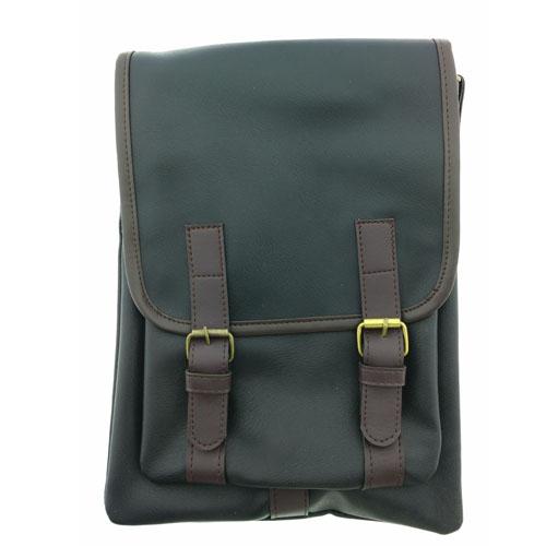 กระเป๋าสะพายข้าง ผู้ชาย สีดำ
