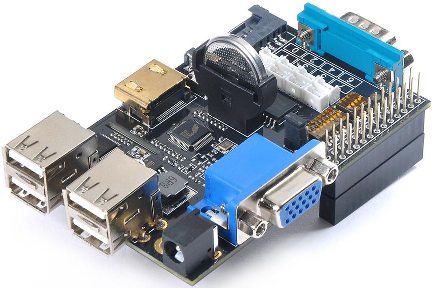 Raspberry Pi Model B Expansion Board (X100)