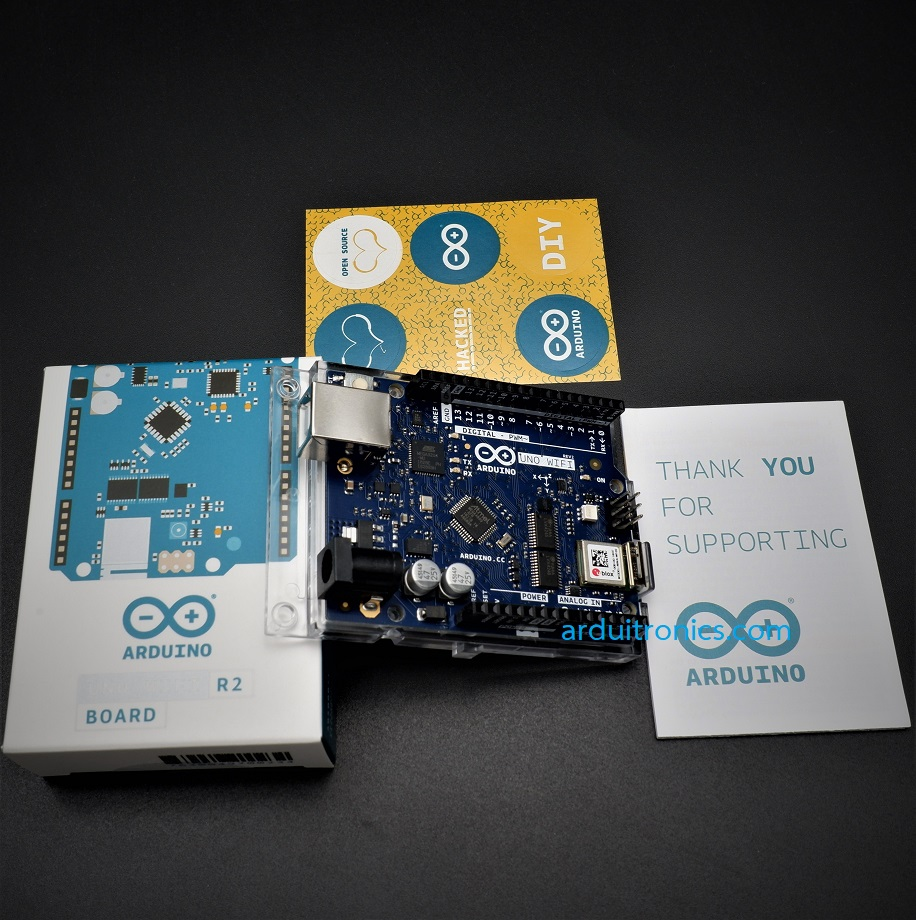 Arduino Uno WiFi Rev2 (onboard IMU and RGB LED) - บอร์ดแท้ Made in Italy