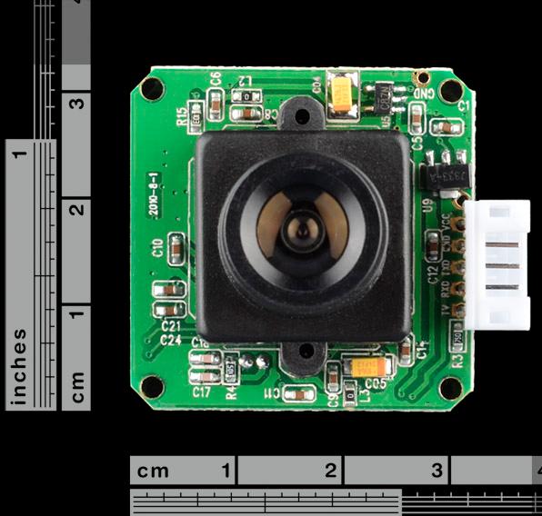 LinkSprite JPEG Color Camera UART (TTL) Interface - VC706 Chip