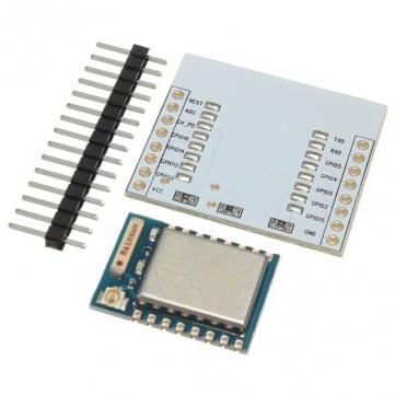 ESP-07 (ESP8266) + Adapter Plate + Pin