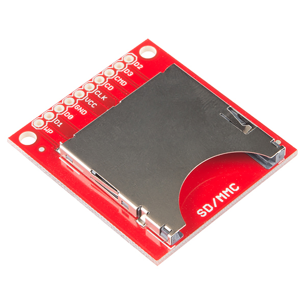 SD/MMC Card Breakout (Sparkfun)