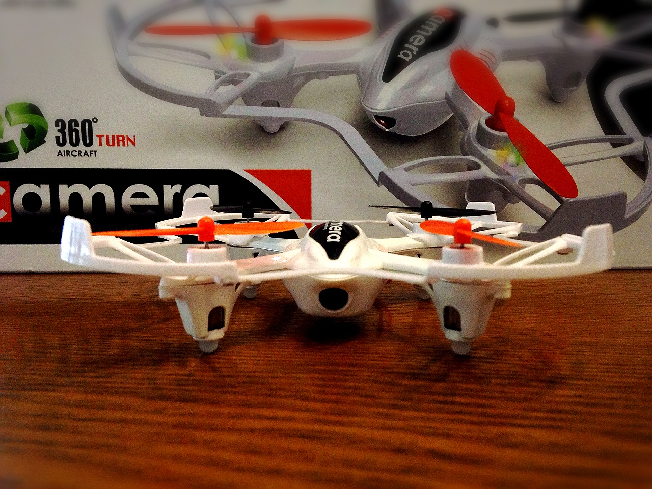 Quad Rotor mini-RC Drone (with Camera)