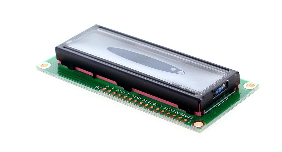 16x2 Character LCD 1602 (Blue Backlight) + แถม Pin Header