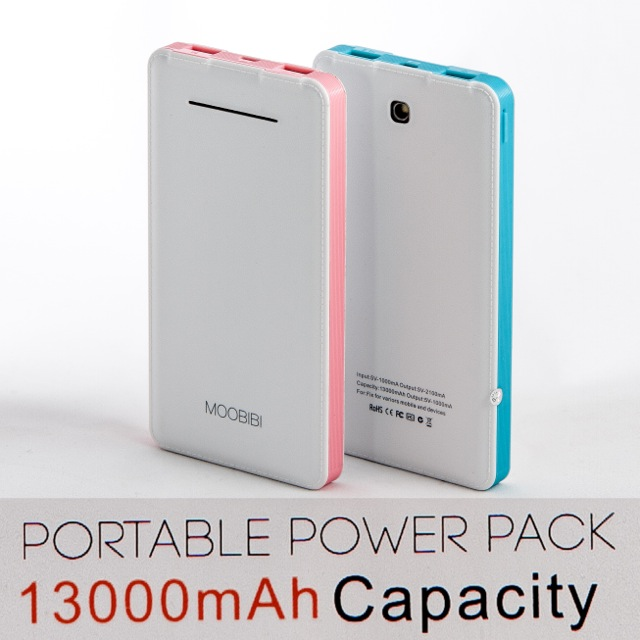 MOOBIBI Note3+ แบตสำรอง 13000 mAh ลดเหลือ 369 บาท ปกติ 1,190 บาท