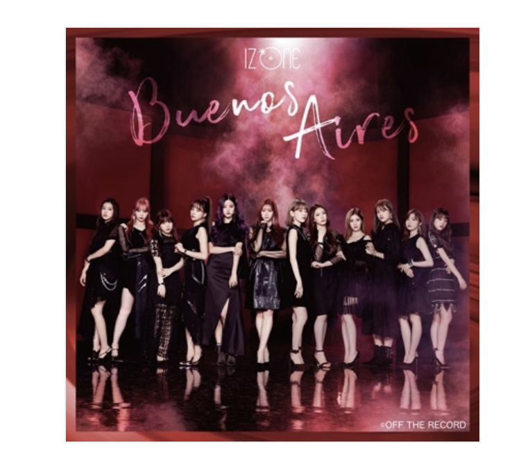 izone /IZ*ONE Japan 2nd Single「Buenos Aires」 แบบ Standard edition Type A  แบบ CD +DVD