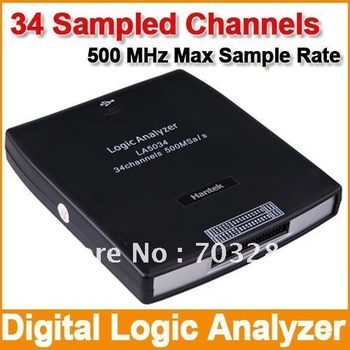 Hantek Digital Logic Analyzer 34 Channels 500 MHz (Model NO:LA5034)