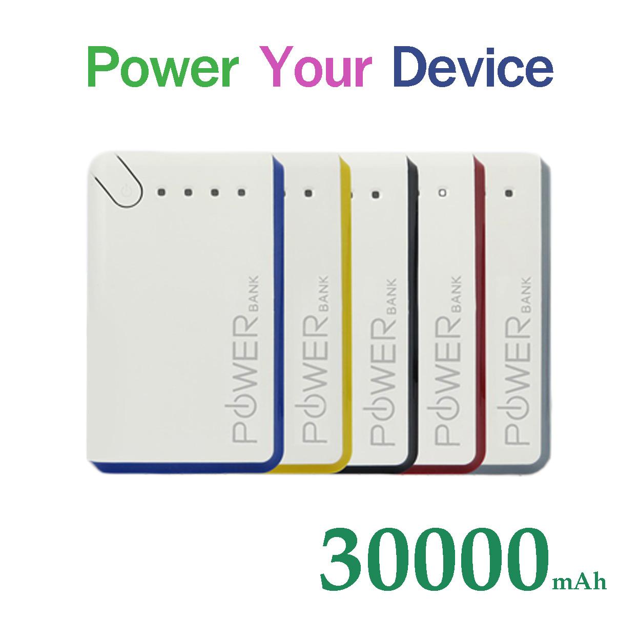 แบตสำรอง Power Your Device 30000 mAh สายชาร์จ 3 in 1