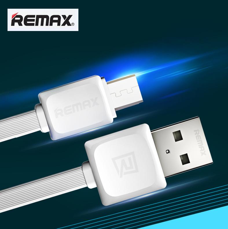 สายชาร์จ Micro USB REMAX FAST Data Cable RC-008m (สายแบน) แท้ 100% ราคา 49 บาท ปกติ 130 บาท